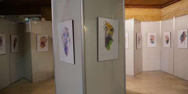 Tropismes - exhibition at the International Animation Festival of Tehran