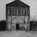 façade d'Echebrune
