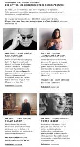 hommages at the Festival du nouveau cinéma