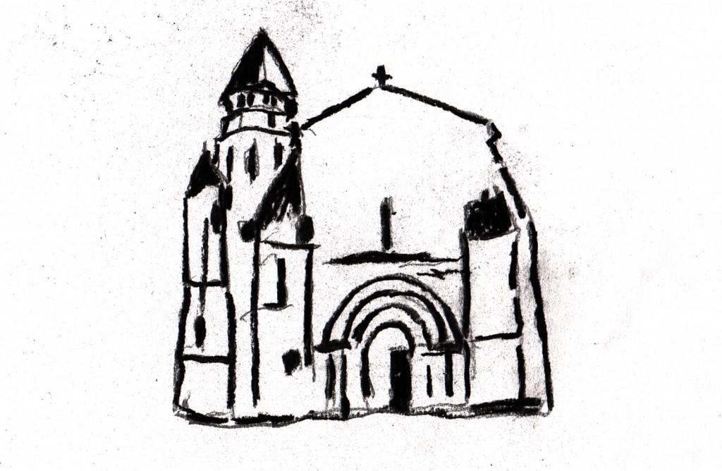 church in Chermignac