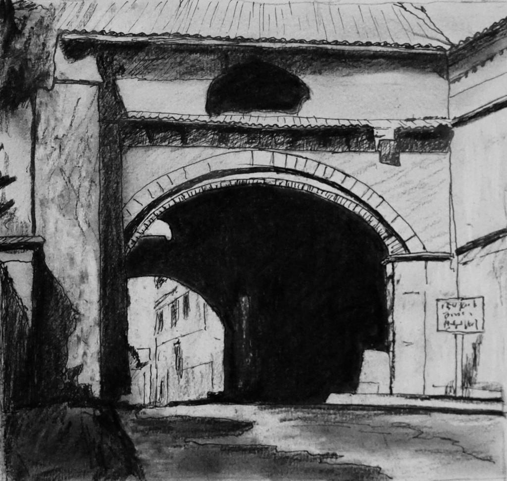 Arche de l'hospice de Pons