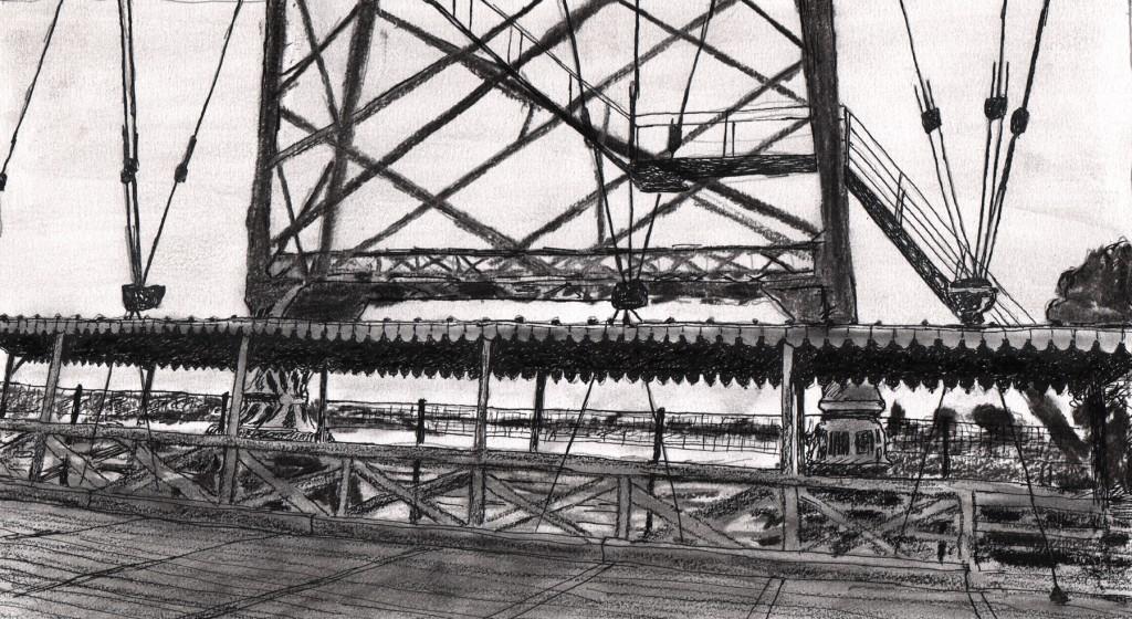 pont transbordeur à Rochefort